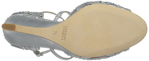 Badgley Mischka Silver MP3920 Womens Winter q0Zqp