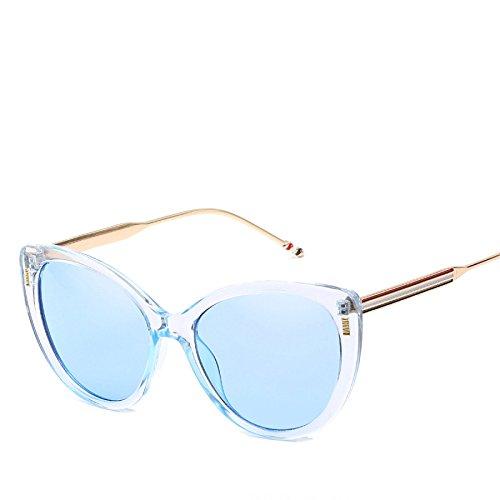 RinV Sol Gafas Metal Espejo De Gato De para Europeas Parasol De Mujer Moda Gafas NO4 Sol Gafas Ojo Tendencias No6 wEIrpI
