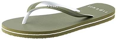 Rip Curl Bondi 2 Tone Women's Casual Shoe, Olive/White, 5 AU