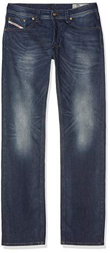 Diesel Mens Stretch Jeans Larkee 0853R Blue Regular Straight Leg (34W x 34L)