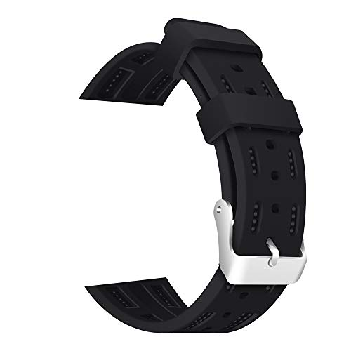 - MiniPoco Tech Silicone Replacement Bracelet Strap Band for Apple Watch Series1/2/3 42mm