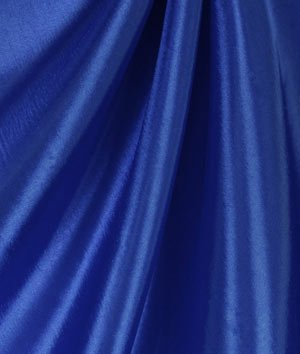 (Royal Blue Taffeta Fabric - by the)