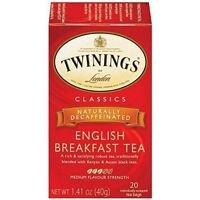 Twinings Decaf English Breakfast Tea (3x20 bag)