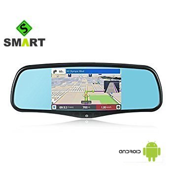 A1 IMirror 5'' Smart Android Rear View Mirror Quad Core with