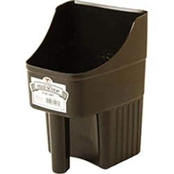 Miller Co Enclosed Feed Scoop, 3 Quart, Black