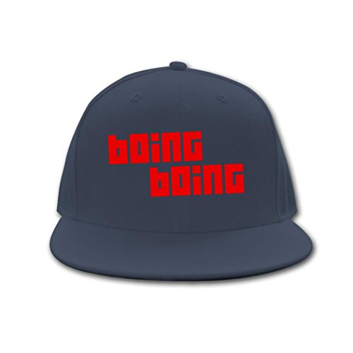 Price comparison product image JUY Hip Hop New Adjustable Boing Boing Logo Snapback Style Baseball Cap And Hat