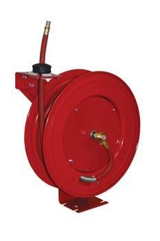3/8-Inch x 50 Retractable Air Hose Reel , Air Accessories , ATD Tools