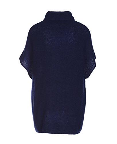 Para Mujer Not Poncho Shy Oscuro Azul Egqwn4BxFv