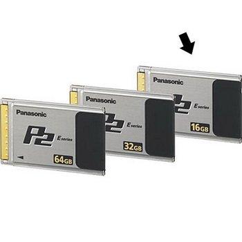 Panasonic 16 GB P2 CARD (E Series - 1.2Gb/s transfer speed)