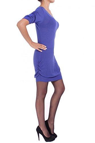 Knit Q'ULQI Modal Blue NAOMI ANTA Dress HzEPnSq