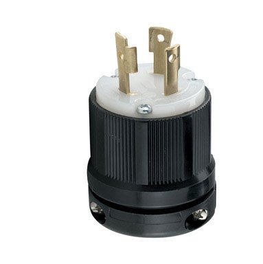 Cooper Wiring Hart-lock Locking Plug (cwl530p-bag)