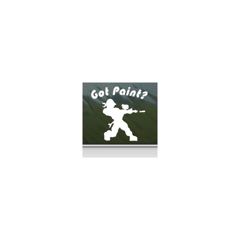 GOT PAINT PAINTBALL White Sticker Car Vinyl Window Laptop