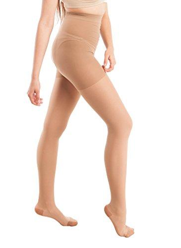 GABRIALLA Graduated Compression Sheer Pantyhose (23-30 mmHg) H-330