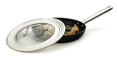 rsvp-endurance-stainless-steel-universal-lid-with-glass-insert-fits-pans-7-12-inch
