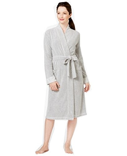 Charter Club Boucle Kimono Robe White (XL (US 16-18))