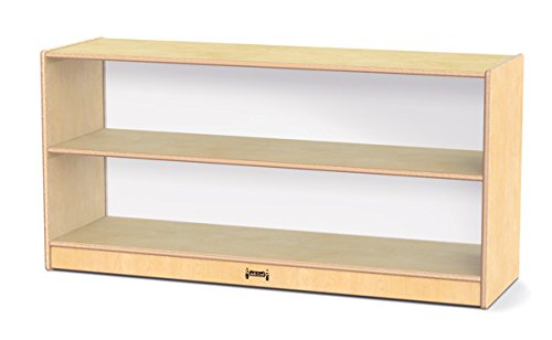 Jonti-Craft 3903JCPLNC Toddler Fixed Straight-Shelf with See-Thru Back
