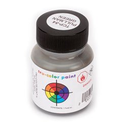 1 Oz Floquil Model Paint - Tru Color Paint Pullman Green 1oz