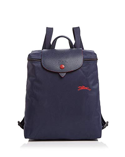 Longchamp Le Pliage Club Nylon Backpack (Navy) ()