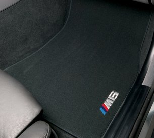 BMW Carpet Floor Mats M6 Convertible (2007-2010) - Black