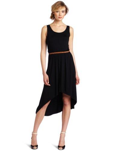 Design History Women's High Low Detail Midi Dress