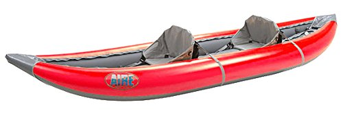 (AIRE Lynx II Tandem Inflatable Kayak-Red)