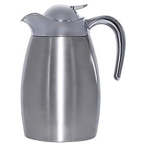 May Flower Stainless Steel Vacuum Flask, Silver