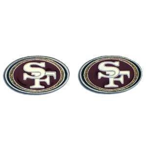 (NFL San Francisco 49ers Stud Earrings)
