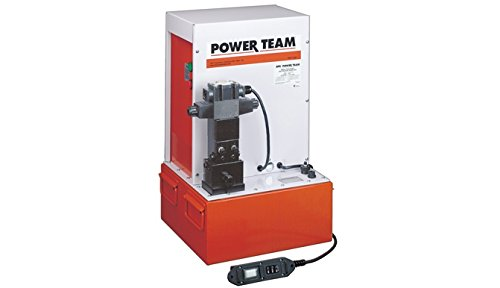 (SPX Power Team PQ1204S Electric Pump for Double Acting Cylinders)