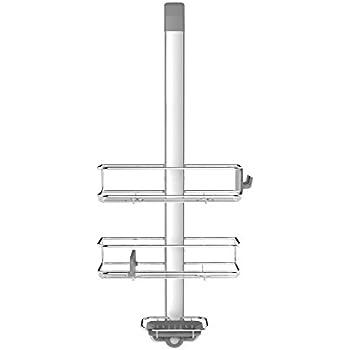 Amazon.com: KES Over the Door Shower Caddy Stainless Steel Rustproof ...