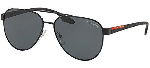 4bb827741a3e7 Prada Sport Sunglasses PS54TS 1AB5Z1 58mm