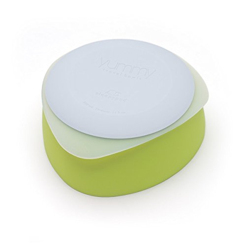 Yummy Travel Bowl - Yummy Pet Travel Dog Bowls - Key Lime - Medium
