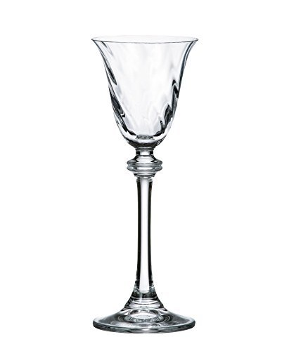 - Bohemia Crystal Cordial Glasses,