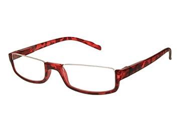 9d859bf2978 Amazon.com  GL2154 Sloane Red Unisex Half Moon Reading Glasses ...