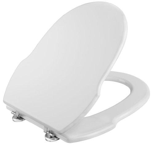 CORNAT KSGRE00 Grecia WC-Seat - White (Design Brillen)