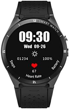 HAJZF Smart Watch Android 5,1 OS 2,0 MP cámara SmartWatch Soporte SIM 3G Red GPS WiFi Google Play/Mapa/Voz,Black: Amazon.es: Deportes y aire libre