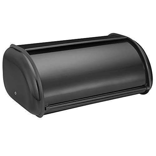 - Deluxe Bread Box Color: Black
