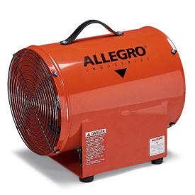 Allegro 9509-50 12 Inch Axial AC High Output Metal Blower