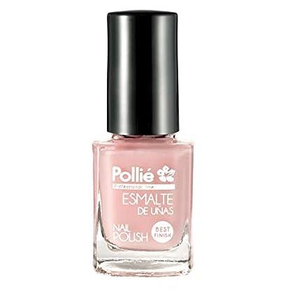 Pollié Esmalte De Uñas Rosa Pastel 12 Ml Amazones Belleza