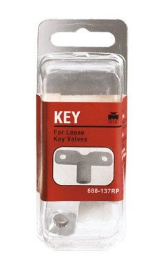 B&k Brass Handles (B&K LOOSE KEY For use with loose key valve)