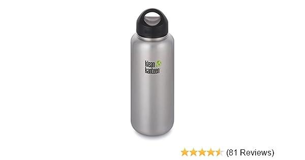 Klean Kanteen Classic Stainless Steel Water Bottle with Klean Coat Single Wall and Leak Proof Loop Cap 2018