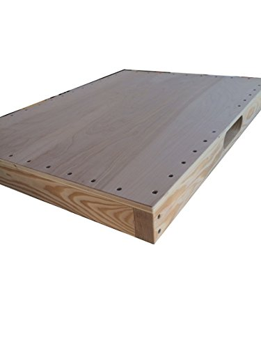Dance Board Professional for Clogging Tap Flat Footing w/handle 3 x 24 x 32 in.(Exterior Grade) by ASPS