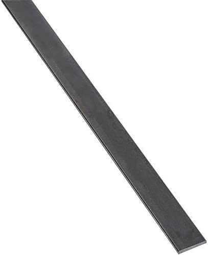 "National Hardware N301-358 4062BC Solid Flat in Plain Steel,1"" x 36"""