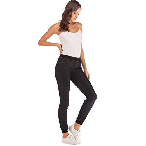 lastique Knickerbockers Collants Denim lache Courts Noir Jeans Occasionnels Plus MORCHAN Leggings Pantalon Femmes recadrs Combinaisons 2018 Automne ZnPxHtq