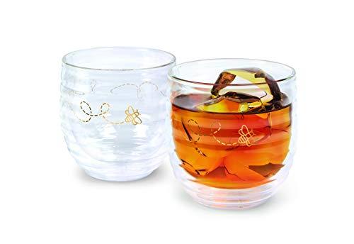 Fred BUZZIN' - Rocks Glasses, Set of 2