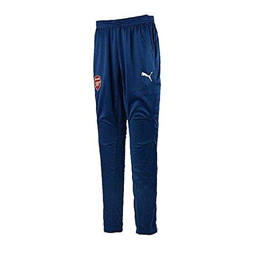 (Puma Men's AFC Training Pants, X-Large, Estate Blue-White)