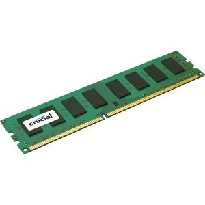 Crucial 16GB DDR3 SDRAM Memory Module - 16 GB - DDR3 SDRAM - 1866 MHz DDR3-1866/PC3-14900 - 1.50 V - ECC - Registered - 240-pin - DIMM - CT16G3R186DM