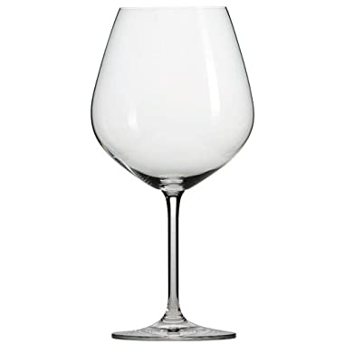 Schott Zwiesel Tritan Crystal Glass Forte Stemware Collection Burgundy / Beaujolais Red Wine Glass, 18.3-Ounce, Set of 6
