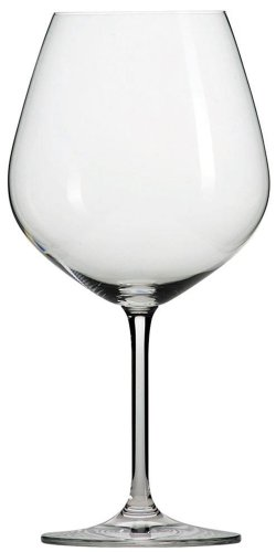Schott Zwiesel Tritan Crystal Glass Forte Stemware Collection Burgundy / Beaujolais Red Wine Glass, 18.3-Ounce, Set of 6 Crystal Red Wine