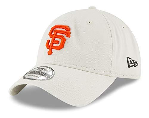 Mlb San Francisco Baseball Giants (New Era San Francisco Giants MLB 9Twenty Core Classic Stone Adjustable Hat)