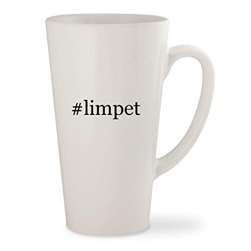 #limpet - White Hashtag 17oz Ceramic Latte Mug Cup